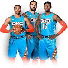 Okc New Jersey Design Thunder New City Edition Uniform Celebrates Native