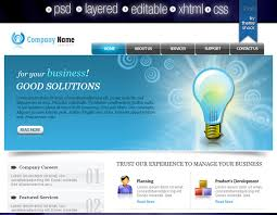 Simple Website Template Custom Simple Web Template