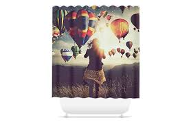 print shower curtains