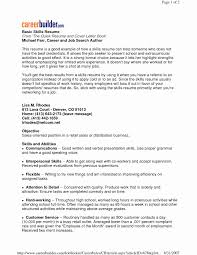 Careerbuilder Resume Search Inspirational Find Here The Sample