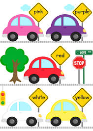 Word Cars Cars Color Word Matching File Folder Game By Robin Reifel Tpt