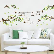 get ations removable wall stickers branches frame tv backdrop stickers wall stickers wallpaper stickers living room