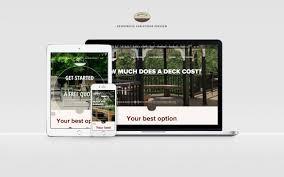 Schweb Design Decks R Us Llc Responsive Website Design Schweb Design Llc