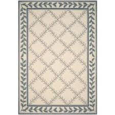 safavieh aubusson rug easy care ivory light blue 4 ft x 6 area rugs safavieh aubusson rug
