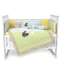 babyhug crib bedding set farm theme