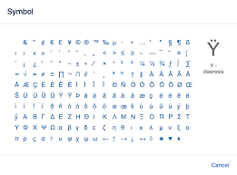 Symbols Emoticons And Special Characters Atlassian Documentation