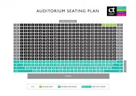Hexagon Seating Chart Seating Plan Camberley Theatre