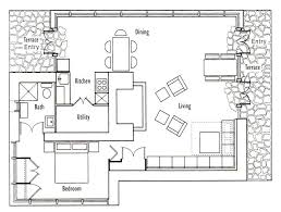 frank llloyd wright s seth peterson cottage floor plan