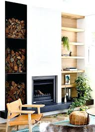 modern living room with brick fireplace. Modern Living Room With Red Brick Fireplace Best Images On
