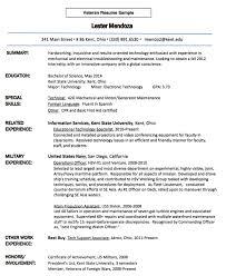 Veteran Resume Examples Pin By Ririn Nazza On Free Resume Sample Resume Examples