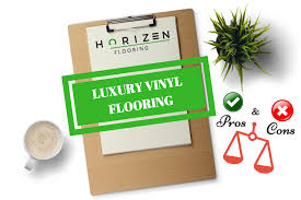 what are the pros and cons of luxury vinyl flooring in this flooring article horizen