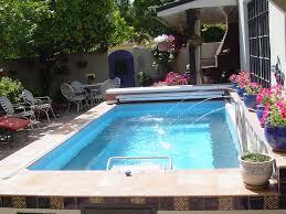 Original Endless Pools, Small Pool mediterranean swimming pools and spas