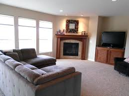 corner built in fireplace minimalist image of living room decoration using built in fireplace modern image
