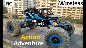 <b>Remote Control</b> Monster Trucks | Rock Crawling Car <b>1:18</b> Scale ...