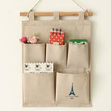wall hanging storage. Interesting Storage Useful Tower 5 Pockets Closet Door Home Wall Hanging Organizer Storage  Stuff Bags Pouch Intended N