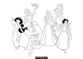 free printable coloring pages baby disney characters princess of ters princesses print out