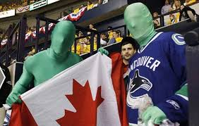 Search, discover and share your favorite vancouver canucks green men gifs. Green Men Ready To Help Canucks Make History In Game 7 Of Stanley Cup Final Thespec Com