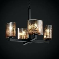 glass shades for chandelier fusion modular 4 light chandelier finish antique brass shade type hour glass