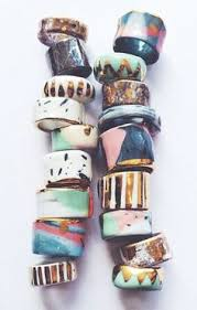 ceramic rings ceramic jewelry ceramic necklace porcelain jewelry ceramic beads clay jewelry