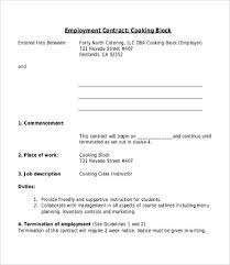 Labour Contract Template Awesome Employee Contract Template 44 Free Word PDF Documents Download