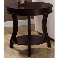 end tables small round black side table end tables canada accent with drawer circle coffee