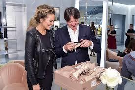 Gianvito Rossi Designer Chrissy Teigen Mischa Barton Celebrate Gianvito Rossi