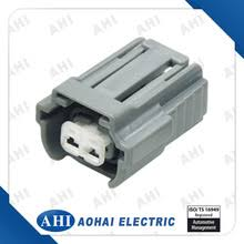 yueqing aohai electric co connectors auto connectors 6195 0043 2 pin female pbt grey cable waterproof wiring harness plastic terminal