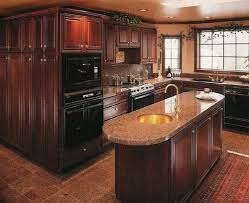 A Mahogany Wood Cabinet For Kitchen Cherry Wood Kitchen Cabinets