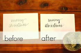 How To Address A Christmas Card Christmas Card Calligraphy Sophisticaited