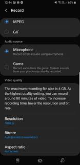 Screen Picture How To Use The Galaxy S10s Hidden Screen Recording Feature