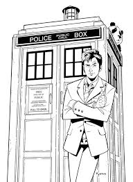 dr who coloring pages. Doctor Who Coloring Pages Printable Of Print Throughout Dr
