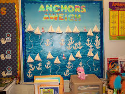 fascinating wall decoration with office bulletin board ideas fantastic nautical blue boat ocean office bulletin