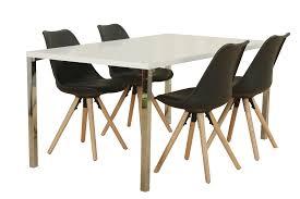 5tlg Essgruppe Esstisch Esszimmer Stuhl Stühle Tisch Sitzgruppe