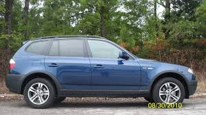 GOLDEN CARS: 2004 BMW X3 blue