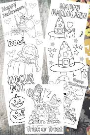 Color this cute little vampire. 7 Best Free Printable Non Scary Halloween Coloring Pages This Tiny Blue House