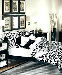 black and white bedroom decor modern home black white and red bedroom decorating ideas small home