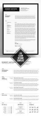 Clean And Minimal Resume Templates Design Graphic Design Junction