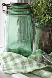 Lovely, Old French Jars, add sparkling Color to any Kitchen, 0 Them~