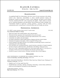 free military to civilian resume templates army to civilian resume examples