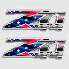 chevy logo with rebel flag. Contemporary Flag Rebel Flag Z71 Confederate Silverado Truck Decals For Chevy Logo With E