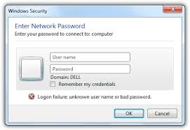 Windows Security Button Using Different Credentials To Access Shared Folders In Windows 7