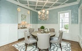 likeable green dining room with chair rail with pact chair rail height for minimalist interior design