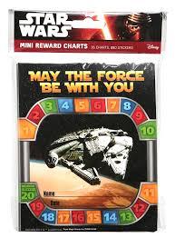 Star Wars Behavior Chart Eureka Eu 837045 Star Wars Mini Reward Charts With Stickers
