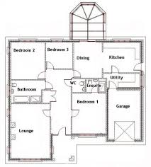 Small Picture 3 Bedroom Bungalow House Designs 3 Bedroom Bungalow House Designs