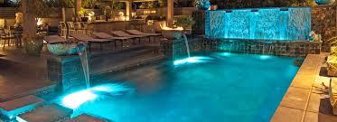 inground pools at night. Custom Pool Lighting Inground Pools At Night