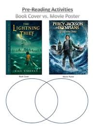 percy jackson the lightning thief movie vs book compare picture