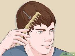 3 ways to straighten men s hair wikihow
