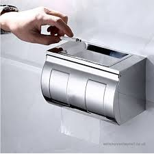office paper holders. Pingofm 304 Stainless Steel Toilet Paper Holders Tissue Box Carton Wiping Hand Lengthened Office