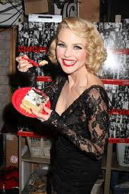christie brinkley and the cast of chicago celebrate the 6000th performance of chicago on broadway