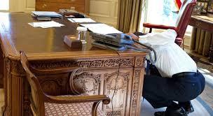 obama oval office desk. secret oval office emergency escape trap door under desk obama s
